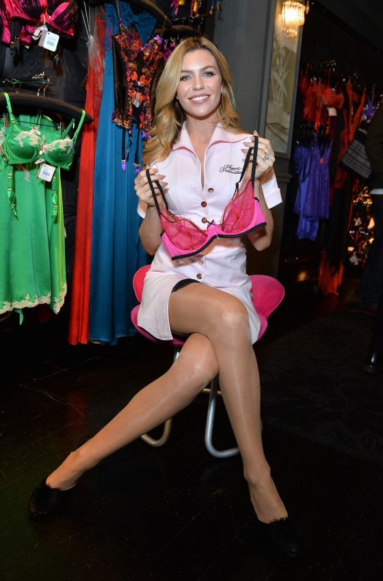 81a201bbc7 Agent Provocateur Join Forces With Abbey Clancy To Support Breast Cancer  Care