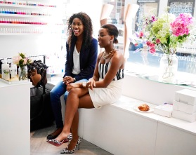Nubian Skin launch at House of Fraser