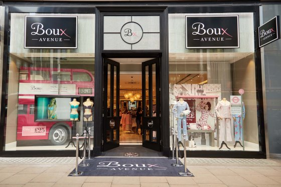 Boux Avenue on Oxford Street