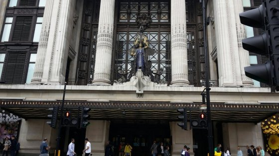 Main entrance Selfridges